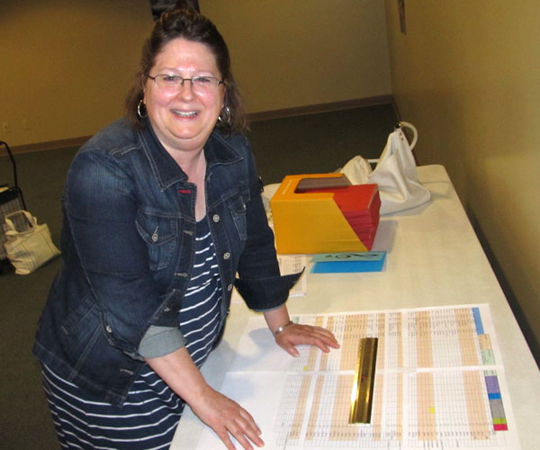 Diane Anderson prepares for convention