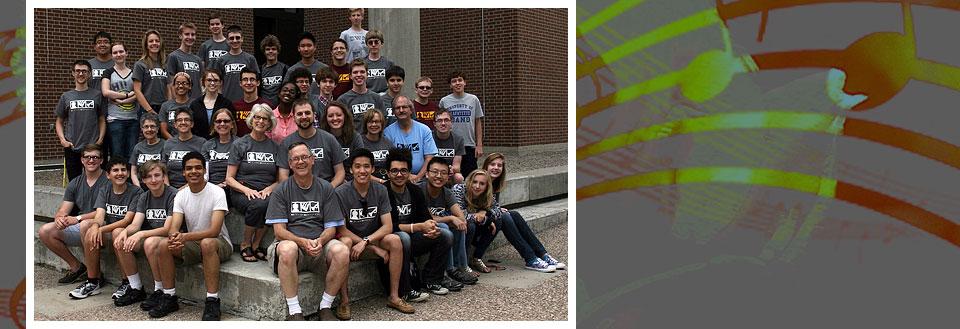 Junior Composers Camp 2014 participants