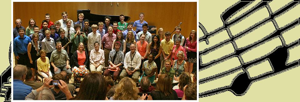 Photo of Junior Composers Camp 2014 Final Salon