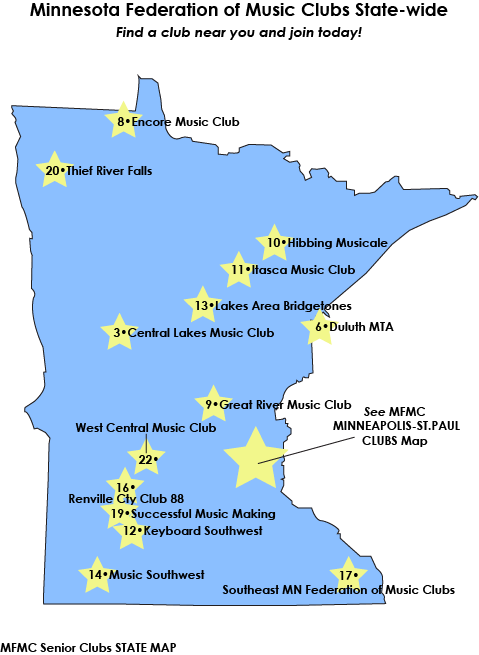 MFMC Clubs in Minnesota