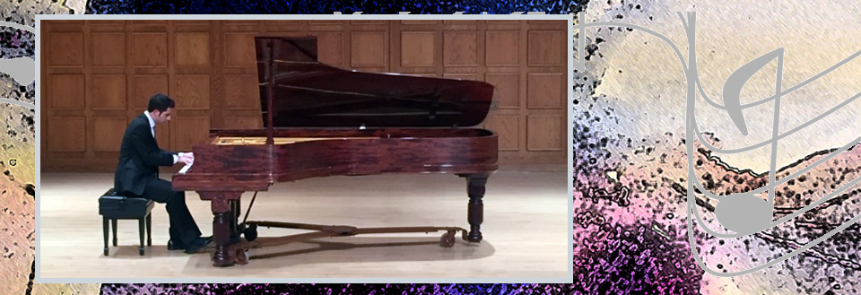 Recital performance by Dr. Nick Susi, pianist